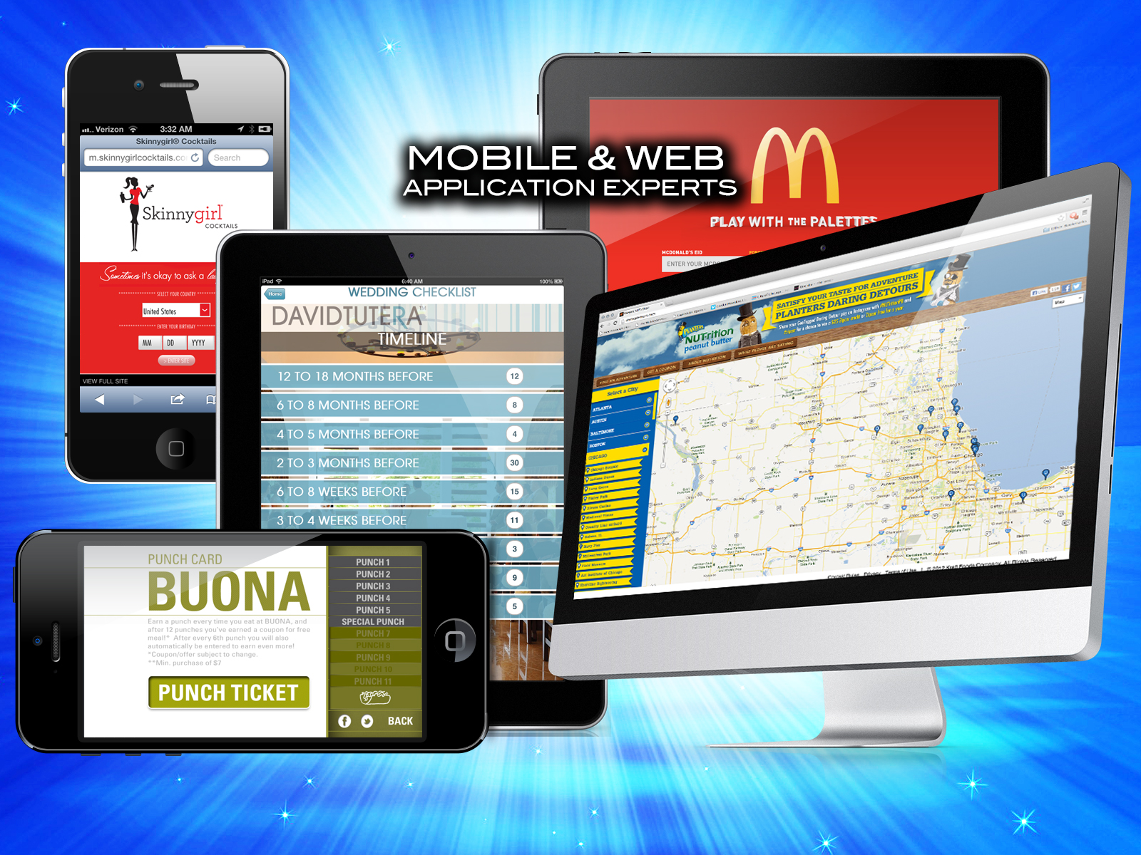 Mobile and Web Experts