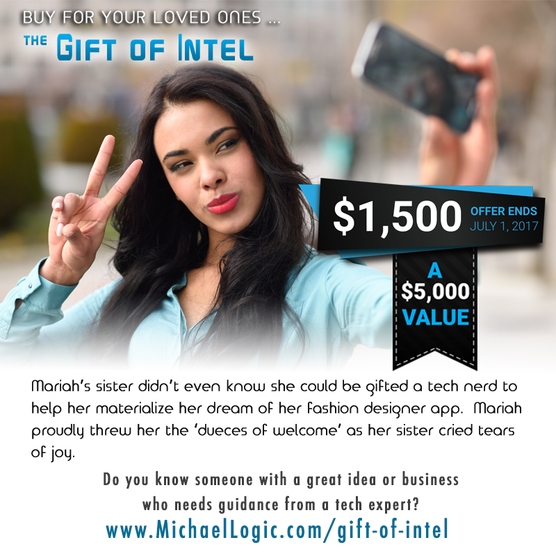 Mike Logic's Gift of Intel